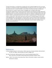The film The Searchers is a western film according to AFI.docx