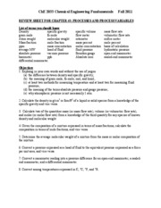 Chapter 3 Review Sheet2011