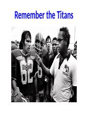 Remember the Titans.pptx