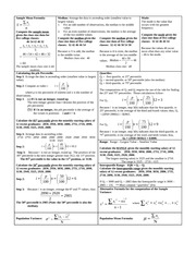 stat study guide