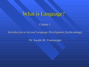 What is language revised