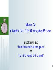 Ch 04 Developing Person - Powerpoint  l-o-n-g version.ppt