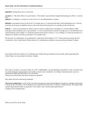 Study Guide-On the United States Constitution(2).rtf