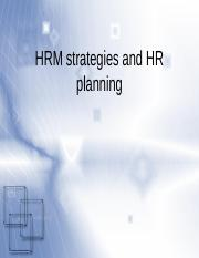 Chapter 2 Strategic Human Resource Management