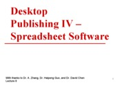 8.Desktop.Publishing.IV.Spreadsheets