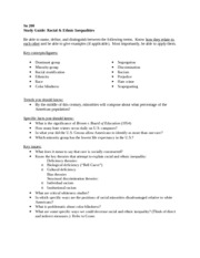 4_Race study guide