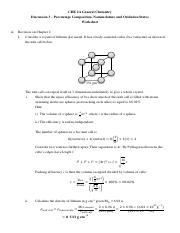 CHEM CHE 2A : GENERAL CHEMISTRY - UC Davis - Page 1 - Course Hero