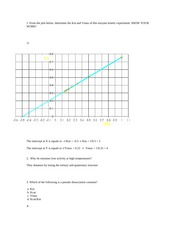 ENZYME KINETICS PROBLEMS WITH ANSWERS (1)