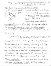 Physics 365_Class Notes on Density Matrix and Pair Correlation Function for Fermions