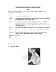 MUSCLES AND MOVEMENTS OF THE UPPER LIMB-1