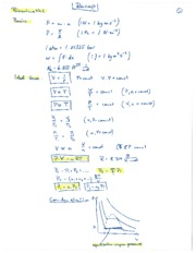 Recap of equations for Midterm Exam Fall 2009