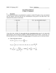 2011BME210Exam1solutions
