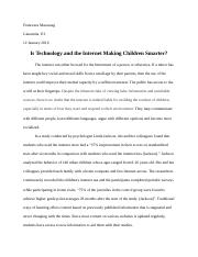 Is the Internet Affecting Children?.docx