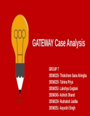 Group 7_Gateway Case Analysis.pptx