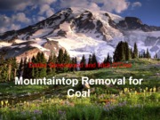 MountaintopRemovalforCoal