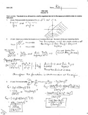 Chapter 14 Exam & Solution