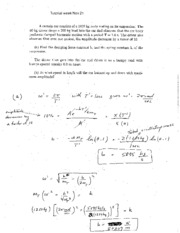 TutorialsWeekNov18 SOLUTIONS