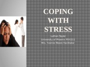 Coping with stress - Copy