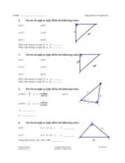 Printables Geometric Mean Worksheet geometric mean worksheet 1 the triangle at right h x 2 pages trigonometry 2