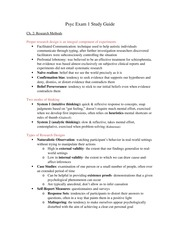 Psyc Exam 1 Study Guide