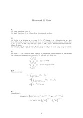 Homework 11 Solution on Real Analysis Fall 2014