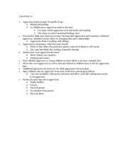 developmental psychology (105) ch14 book notes