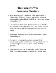 The Farmer's Wife Discussion Questions.doc