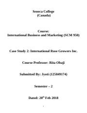 International Rose Growers Inc. .docx