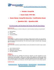 Pdf security+ sy0-401