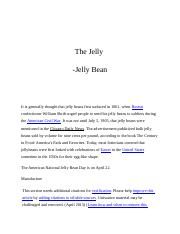 Beans of jelly.docx