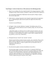 Assignment 1 TQM on-line Fall 2015 (1)