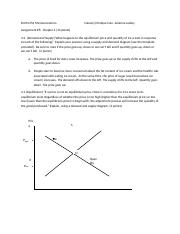 ECON 252 Assignment 5 Chapter 4