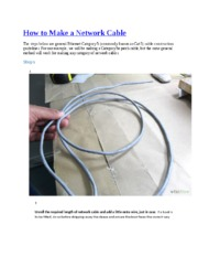 How to Make a Network Cable.docx