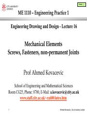 Engineering Drawing pdf - Design web ME 1110 Engineering