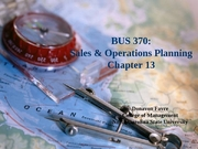 Classes 22-23 - SOP - Chapter 13