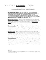 Different Characteristics of Cloud Computing.docx