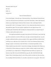 history reflection paper