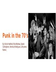 Punk in the 70s - Online Teaching Resource.pptx