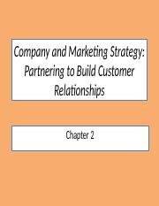POM2- Company and Marketing Strategy.pptx