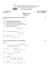 8th paper math summer exam 8 sup and 8th b i.docx