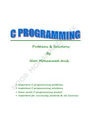 C Programming Problems & Solution By Noor Mohammed Anik.pdf