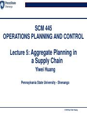 Lecture 5_Aggregate planning in a SC .pdf