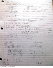 Linear Motion and Statics Notes