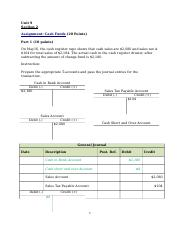 Working Papers_Accounting for Special Procedures.docx
