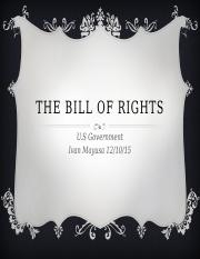 The Bill of Rights-Ivan Mayusa.pptx