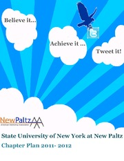 State University of New York at New Paltz_2011_2012 Chapter Plan