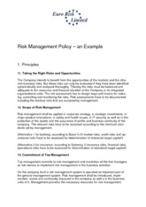 7-Risk management policy