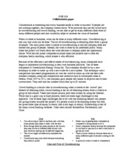 CQS 111 Collaboration Paper