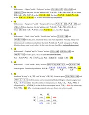 Stat 600 Law of Total Probability Quiz Solutions