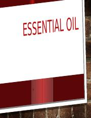 Essential oil.pptx